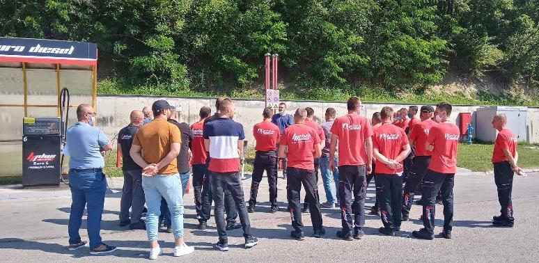 Hifa Petrol organizovala obuku o zaštiti od požara za svoje uposlenike