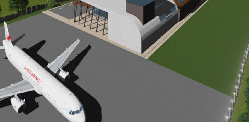 Aerodrom u Bihaću gradi testnu stazu za polijetanje