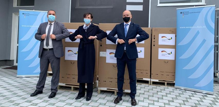 Njemačka donira 12 respiratora bolnicama širom Bosne i Hercegovine