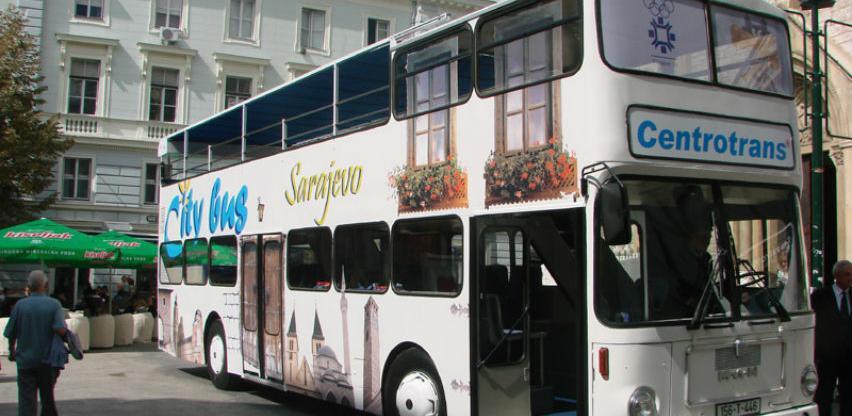 Počinje sa radom City busza panoramsko razgledanje Sarajeva