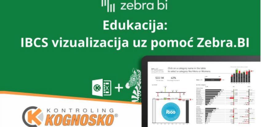 Edukacija: IBCS vizualizacija uz pomoć Zebra.BI