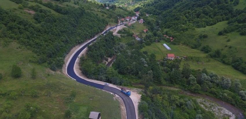 Ozvaničen završetak rekonstrukcije prve dionice puta Zenica - Babino
