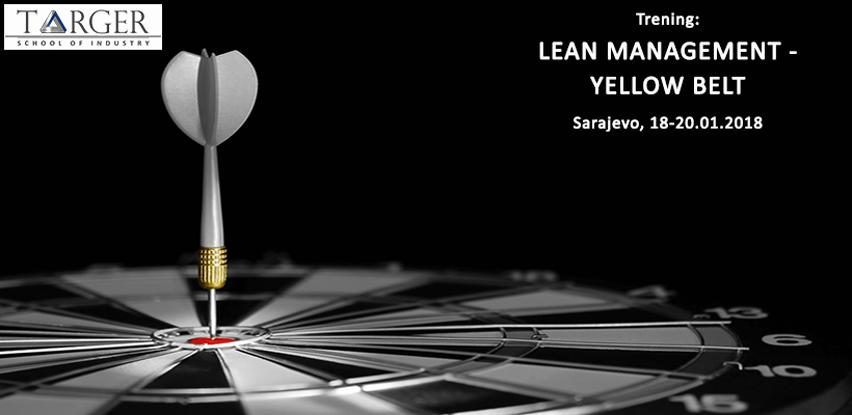 Targer SoI trening: Lean Management – Yellow Belt
