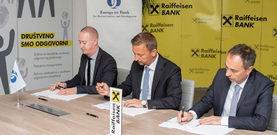 Nastavljena saradnja Raiffeisen banke i Evropske banke za obnovu i razvoj