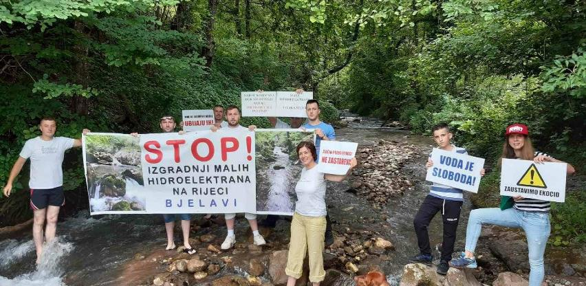 Građani Foče u petak protestuju protiv gradnje mHe na Bjelavama