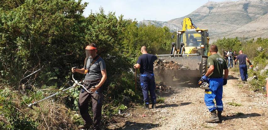 Trebinje će do sredine oktobra dobiti novu biciklističku stazu