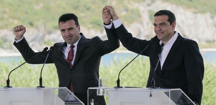 Grčka i Makedonija potpisale istorijski sporazum o preimenovanju