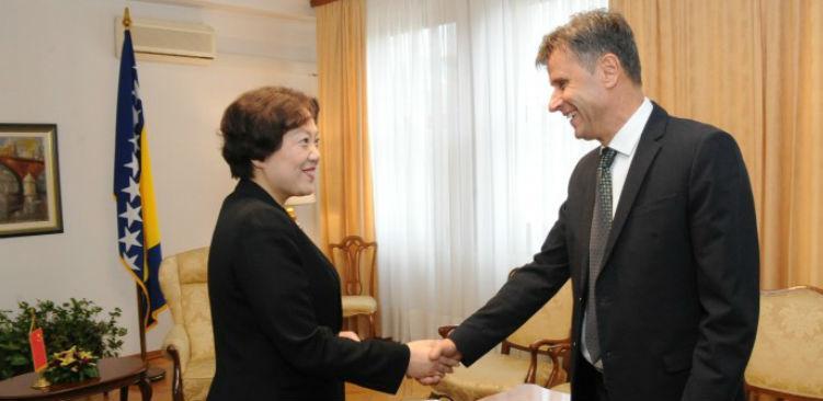 Kina u BiH aktivna na realizaciji kapitalnih projekata