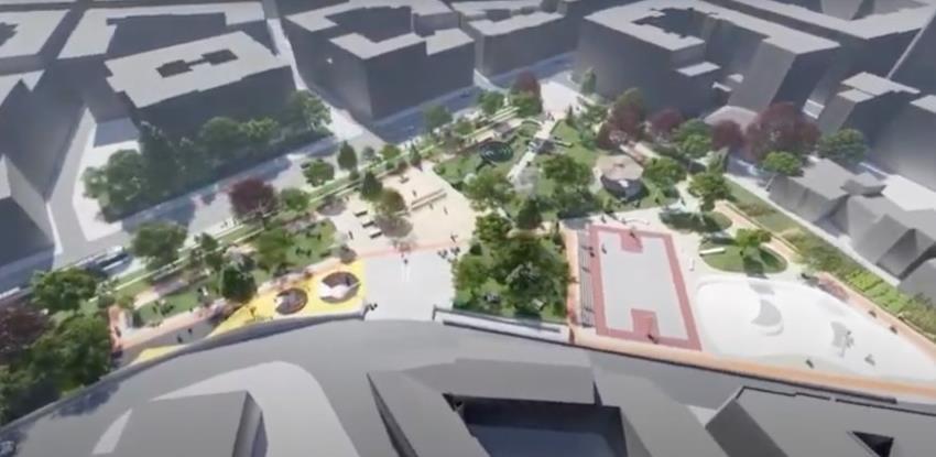 Inicijativa građana Hastahana Park: Pogledajte kako bi mogao izgledati park