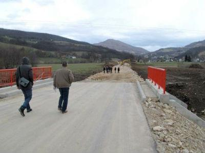 Infrastrukturni radovi na putu Resnik i cesti Blinje-Sastavci