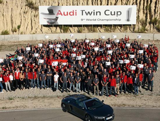 Audi Twin Cup: Servis na svjetskom nivou