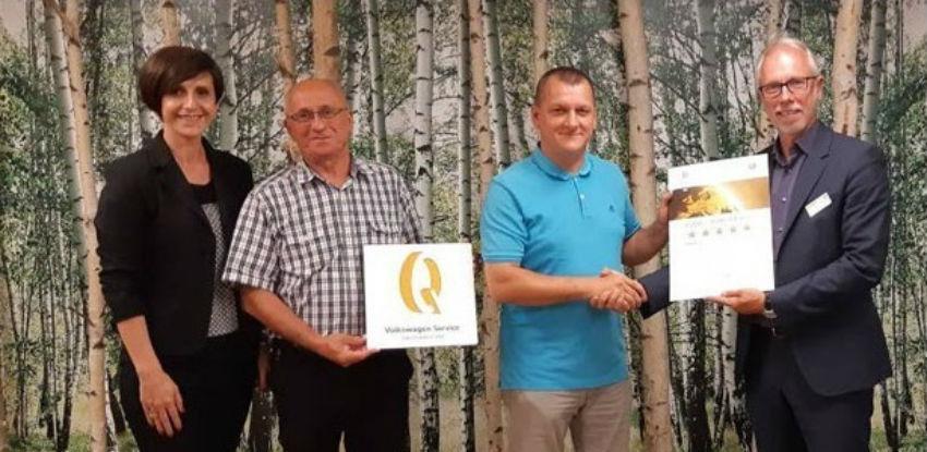 Volkswagen Service Quality Award po peti put za NIPEX