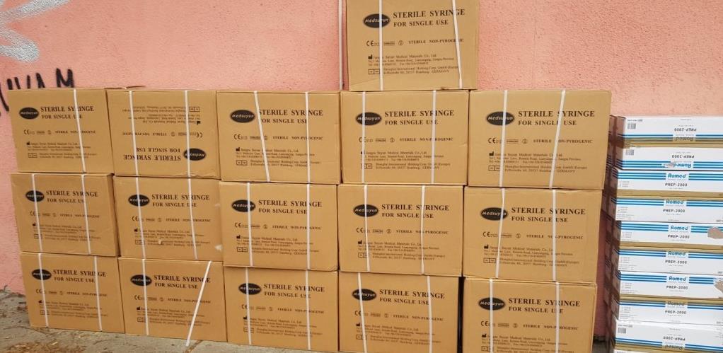 U Tuzlanski kanton stigao potrošni materijal za potrebe masovne vakcinacije