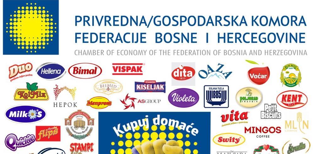 """Privredna komora FBiH ponovno inicirala  kampanju """"Kupuj domaće – gradi BiH"""""""