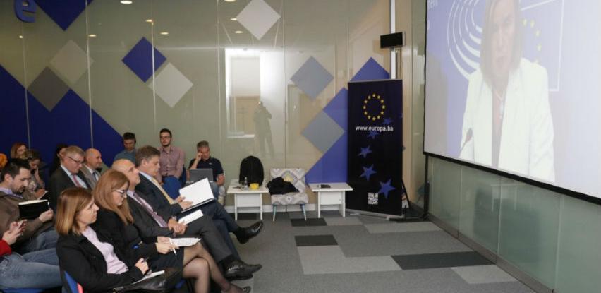 Mogherini-Hahn: Radimo na izradi mišljenja o aplikaciji BiH za članstvo u EU