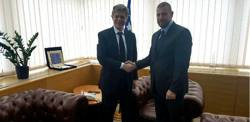 Ministar Jusko se zahvalio ambasadoru Wigemarku na dodatnim grant sredstvima Evropske unije.