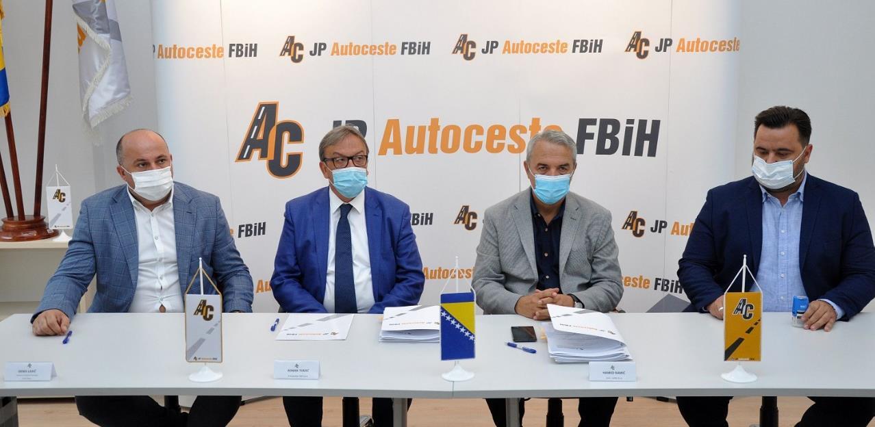 Potpisan ugovor: Kreće izgradnja poddionice Tarčin – ulaz u tunel Ivan