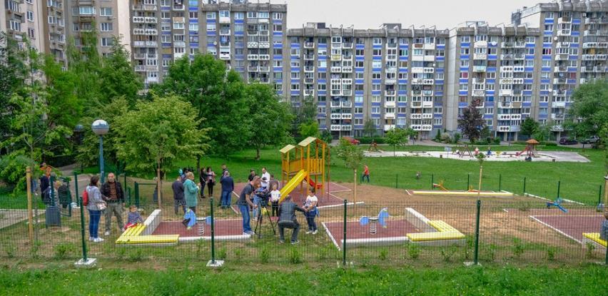 Sarajevska općina Novi Grad otvorila još jedno dječije igralište