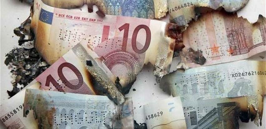 U smeću završilo 9,7 miliona pohabanih novčanica