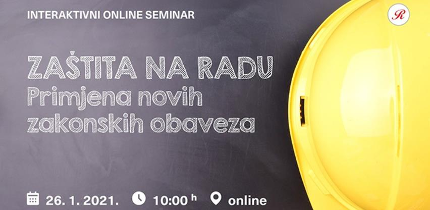 Revicon seminar: Zaštita na radu - primjena novih zakonskih obaveza