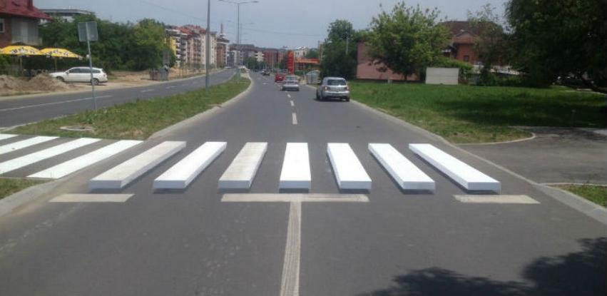 Banja Luka dobila prvi 3D pješački prelaz