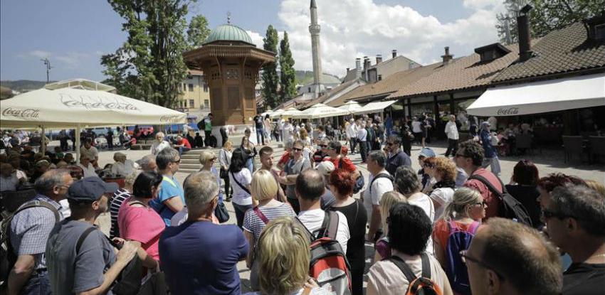 Za deset mjeseci više od 1,2 miliona turista