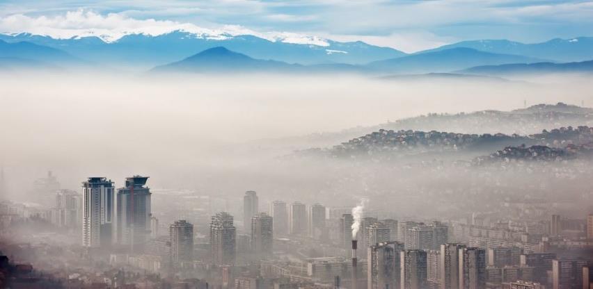 Vazduh u Sarajevu vrlo nezdrav: Apel građanima da izbjegavaju aktivnosti vani
