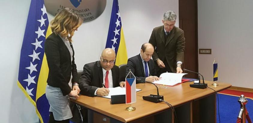 Potpisan Sporazum o kulturnoj, obrazovnoj i naučnoj saradnji BiH i Češke