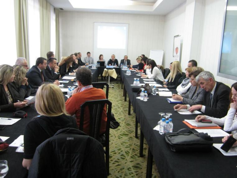 """The Foreign Investment Promotion Agency (FIPA) organized on 9 December 2014 in Sarajevo a round table on the topic: """"Proposals and Measures to Improve the Business Environment in Bosnia and Herzegovina"""""""