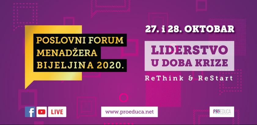 Biznis u 5 lekcija Dr Dragane Đermanović na 6. Forumu menadžera u Bijeljini