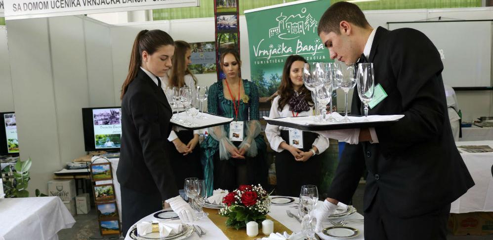 Takmičenje učenika turističko-ugostiteljskih škola u Lukavcu
