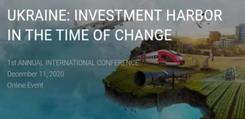 """Online konferencija """"Ukrajina: Investicijska luka u dobu promjena"""""""