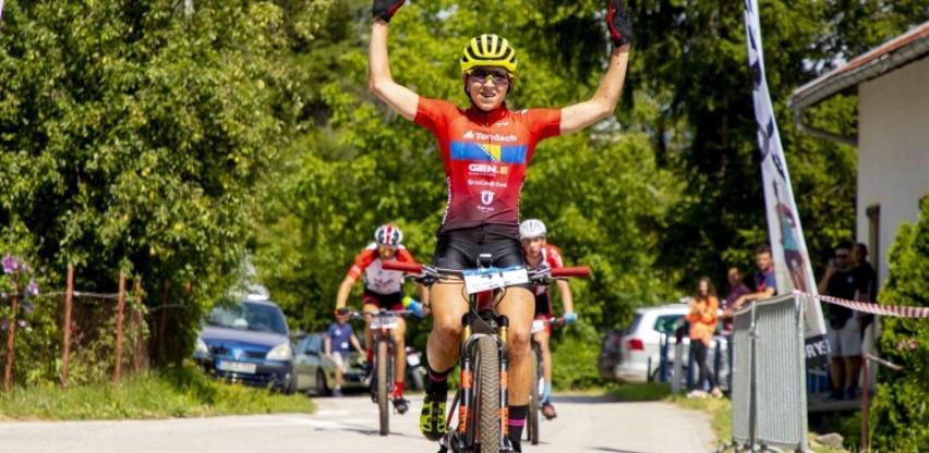 Bh. biciklistkinja Tanović oborila rekord i osvojila 13. titulu državnog prvaka