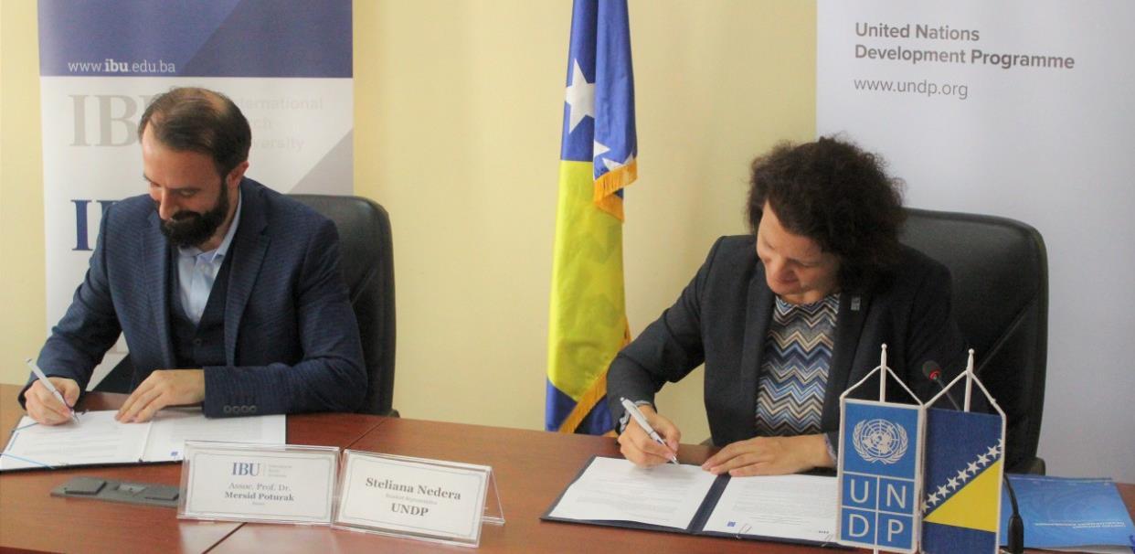 Internacionalni Burch univerzitet i UNDP potpisali memorandum o razumijevanju