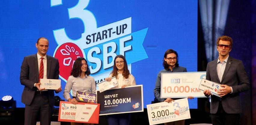Semra Sukanović pobjednica prve emisije treće sezone SBF Start-up Challenge