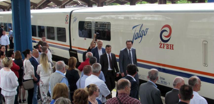 Ponovno brzim vozom iz Sarajeva prema jugu