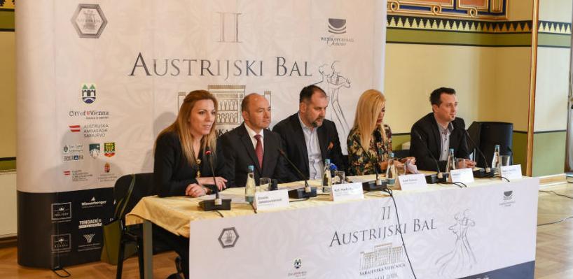 Sarajevo domaćin Drugog Austrijskog bala u Bosni i Hercegovini