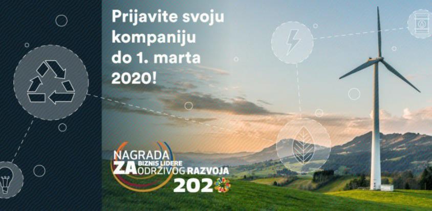 Počele prijave za biznis lidere održivog razvoja u BiH za 2020. godinu