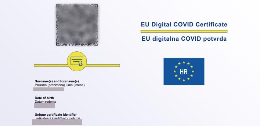 Hrvatska od danas izdaje COVID pasoše
