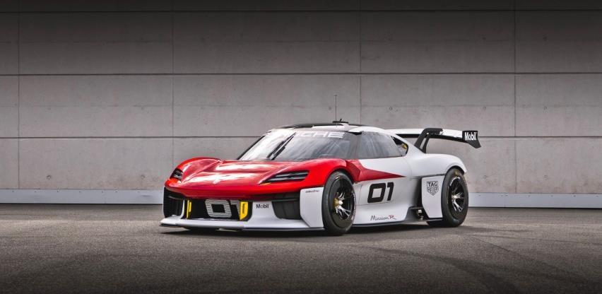 Porsche predstavlja svoju konceptnu studiju Mission R zasnovanu na budućnosti