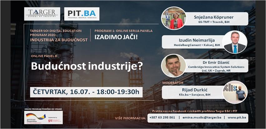 Online PIT panel diskusija: Budućnost industrije?