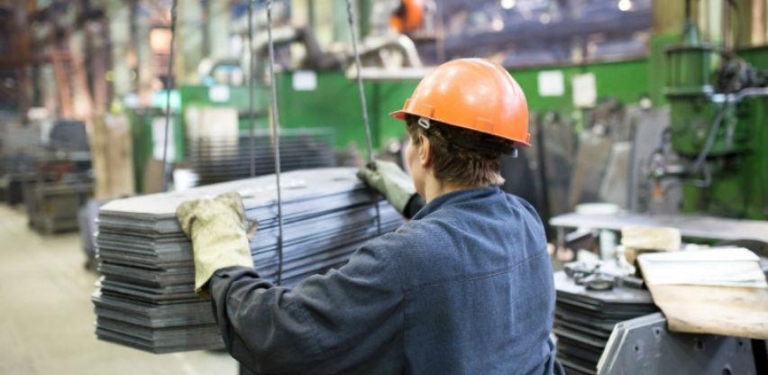 U aprilu zabilježen pad industrijske proizvodnje u BiH od 6,2 odsto