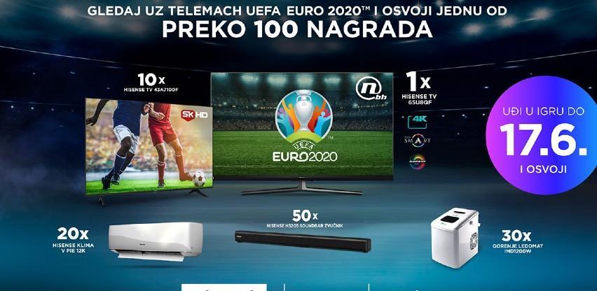 Telemach BH i Hisense Gorenje oficijelni sponzor EURO 2020 TM: Velika nagradna igra