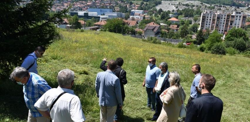 Uređuje se teren za prvu botaničku baštu na Betaniji