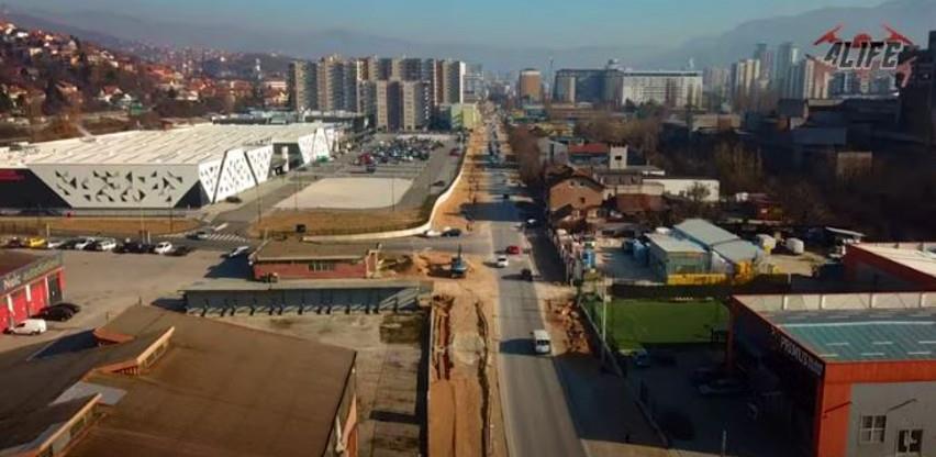 Pogledajte radove na proširenju ulice Džemala Bijedića