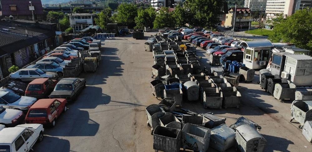 """Počelo potpisivanje peticije građana za rješavanje problema korištenja garaža KJKP """"Rad"""""""