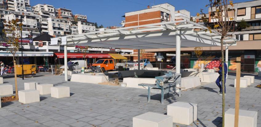 Završen veliki dio radova na uređenju dijela Merhemića trga