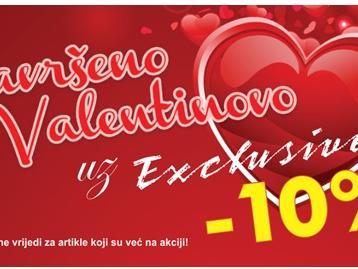 I ove godine provedite savršeno Valentinovo uz Exclusive!