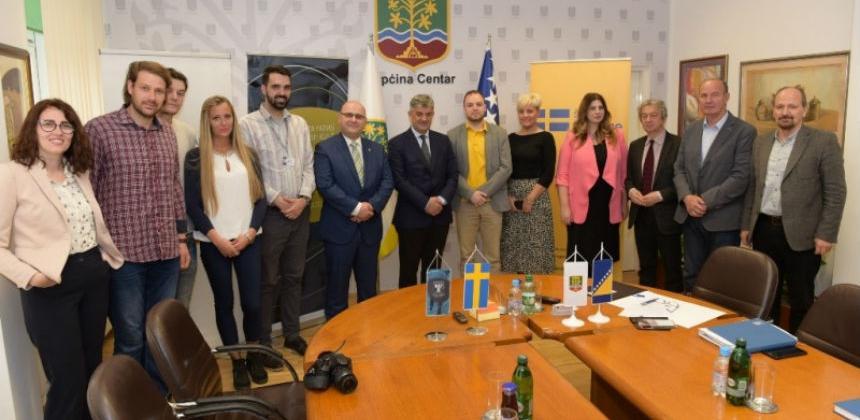 U Općini Centar potpisani ugovori za pokretanje četiri nova biznisa za mlade