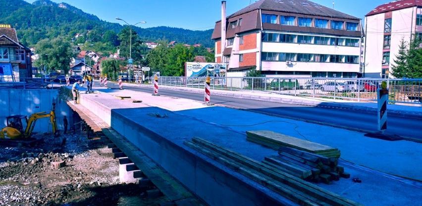 Pri kraju rekonstrukcija mosta na magistralnom putu Tuzla-Sarajevo